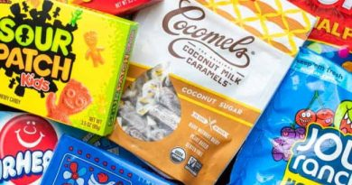 vegan candy for emergency supplies